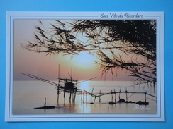 San Vito Chietino - Chieti - Tramonto Sul Mare - Controluce - Foto G. Di Minni - Controluce