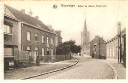Wommelgem : School Der Zusters Annonciaden -- Kerk - Wommelgem