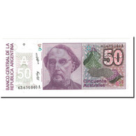 Argentine, 50 Australes, Undated (1986-89), KM:326b, NEUF - Argentine