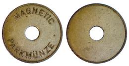 01714 GETTONE TOKEN JETON PARCHEGGIO PARKING MAGNETIC PARKMUNZE - Allemagne