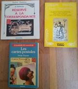 CP4 / Les Cartes Postales ZEYONS 1979, Guide Cartophilia 1980, Réservé à La Correspondance GIRAUD 1965 - Livres