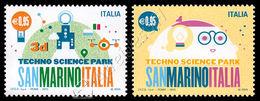 Italia / Italy 2015: Parco Scientifico E Tecnologico San Marino / Techno Science Park (joint Issue With San Marino) ** - Joint Issues