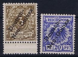 Deutsch-Neuguinea: Mi Nr 1 + 4 Postfrisch/neuf Sans Charniere /MNH/** - Colonie: Nouvelle Guinée