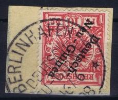 Deutsch-Neuguinea: Mi Nr 3 Cancel Berlinhafen Friedemann Type 1, BPP Signiert /signed/ Signé Dr Lantelme - Colonie: Nouvelle Guinée