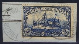 Deutsch-Neuguinea: Mi Nr 17 Cancel Friedrich-Wilhelmshafen Friedemann Stempel 7  Signiert /signed/ Signé  Kohler - Kolonie: Duits Nieuw-Guinea