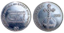 01953 GETTONE TOKEN JETON VENDING TRADE OKTOBER FEST WW.GVT.TREBUR.DE KAISERTALER - Allemagne