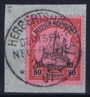 Deutsch-Neuguinea: Mi Nr 15 Cancel Herbertshohe  Friedemann Stempel 10 - Kolonie: Duits Nieuw-Guinea
