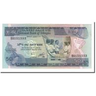 Éthiopie, 50 Birr, L.EE1969 (1991), KM:44b, SPL - Ethiopie