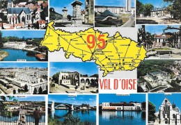 95 Departement Du Val D'Oise (Scan Recto Verso) - France