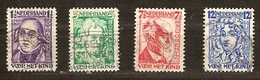 Pays-Bas Nederland 1928 Yvertn° 215-218 (°) Oblitéré Used Cote 12 Euro - 1891-1948 (Wilhelmine)