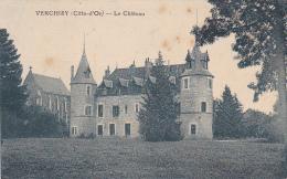 Verchisy - Le Château (château & Chapelle Vus Depuis Le Parc) Circ 1925 - Altri Comuni