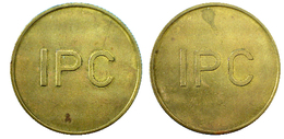 02150 GETTONE TOKEN JETON NETHERLANDS SELLING COIN OPERATED MACHINE DISPENSER MACHINE INEPRO PAYMATIC CO. - Netherland