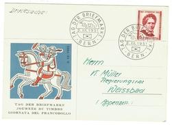 Suisse // Schweiz // Switzerland //  1950-1959 // Carte De La Journée Du Timbre 1951 - Svizzera