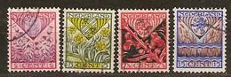 Pays-Bas Nederland 1927 Yvertn° 195-198 (°) Oblitéré Used Cote 9,00 Euro - 1891-1948 (Wilhelmine)