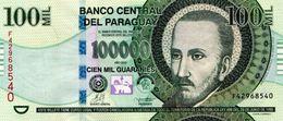 PARAGUAY 100000 GUARANIES 2013 P-233a UNC SIGN. LEGUIZAMON & WENNINGER [PY854d] - Paraguay