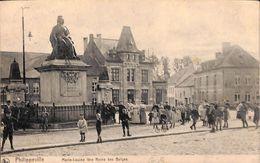 Philippeville - Marie-Louise Première Reinde Des Belges (top Animation, Edit. Léon Gilliard-Bodson, 1910) - Philippeville