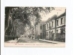 206. MAZAMET  -  Avenue De La Gare  - Jardin Public Et Banque De France - Mazamet