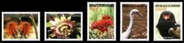 BURUNDI 2008 - FAUNE ET FLORE FAUNA FLOWERS EAGLE AIGLE ROYAL HERON FLEURS FLOWER ROSE BIRDS - RARE - FULL SET - MNH ** - Burundi