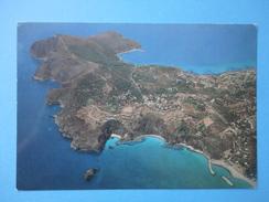 Capo Palinuro - Salerno - Panorama Aereo - Viaggiata 1985 - Annullo Palinuro - Salerno