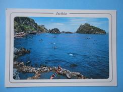 Ischia - Napoli - Panorama - Spiaggia Di Cartaromana E Sorgenti Naturali Radioattive - Viaggiata 1995 - Napoli (Naples)