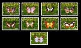 BURUNDI 2008 - BUTTERFLIES PAPILLONS BUTTERFLY PAPILLON - RARE- FULL SET -  MNH - Schmetterlinge
