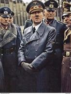 Militaria WW2 -  Adolf Hitler Avec Le Gal Guderian Et Le Feldmarschal Wilhelm - 1939-45