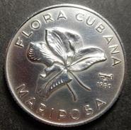 Cuba 5 Pesos 1980 Flora Cubana Unc - Cuba