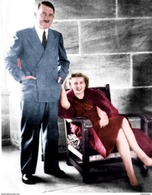 Militaria WW2 - Adolf Hitler Et Eva Braun Au Berghof - 1939-45
