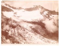 FOTO ALINARI 15929 PIEMONTE Vedute Alpine  Ghiacciai Del Monte Rosa E Del Monte Delle Loccie - Non Classificati