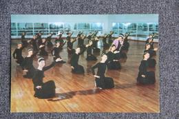 """PYONGYANG - Maison De La Culture """" 8 Février """" - Salle D'exercice Des Danseurs. - Corée Du Nord"""