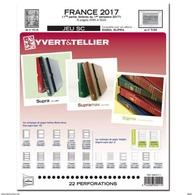 Jeu France Yvert SC Supra 2017 1ere Partie Sortie Le 15 Septembre - Albums & Reliures