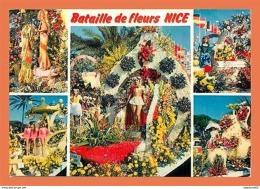 A656 / 053 06 - NICE Bataille De Fleurs Multivues - Francia