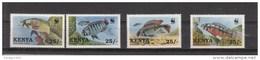 1997 Kenya WWF Fish Complete Set Of 4 MNH - Kenia (1963-...)