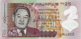 MAURITIUS 25 RUPEES 2013 P-64a UNC [MU430a] - Mauritius