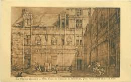 46 - Le Vieux Querey - Cour Du Château De MONTAL, Près Saint-Céré En 1835 - Saint-Céré
