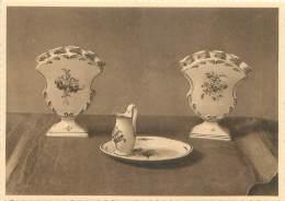 CPM - Musée D'ARLON - Deux Tulipiers En Forme D'éventail à Décors Bleus - Aarlen