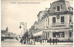 REIMS - Place Drouet D'Erlon Et Hotel Continental - Reims