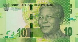 SOUTH AFRICA 10 RAND ND (2012) P-133a UNC WITHOUT OMRON RINGS [ZA762a] - South Africa