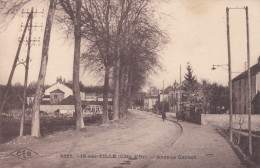 Is-sur-Tille France, Avenue Carnot Street Scene, C1910s Vintage Postcard - Is Sur Tille