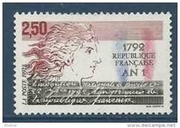 """FR YT 2771 """" 1792 - An 1 De La République """" 1992 Neuf** - France"""