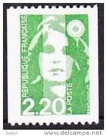 France Marianne Du Bicentenaire N° 2718 ** Briat - Roulette Du 2f20 Vert - 1989-96 Bicentenial Marianne