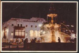 °°° 8171 - PERU - LIMA - PILETA EN LA PLAZA DE ARMAS - 1964 With Stamps °°° - Perù