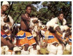 (826) Swaziland  - Dancers - Swaziland