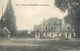 """CPA FRANCE 72 """"Château Des Courbes Près La Flèche"""" - France"""
