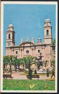 °°° 8202 - URUGUAY - MONTEVIDEO - LA CATEDRAL - PLAZA CONSTITUCION - 1955 °°° - Uruguay