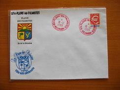 Réunion : Pli De 1999 De La Plaine Des Palmistes Avec Cachets Divers - Réunion (1852-1975)