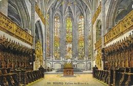 Bourg - Eglise De Brou, Vue Intérieure, Le Choeur (tombeau De St Philibert) - Carte LL N° 66 Colorisée, Non Circulée - Eglise De Brou