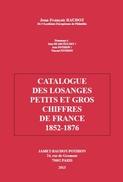 CATALOGUE 2013 LOSANGES PETITS ET GROS CHIFFRES France BD50 - France
