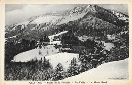 Gex (Ain) - Route Du Col De La Faucille - Le Pailly, Le Mont Rond - Edition Combier - Gex