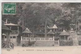 92  -  ROBINSON  -  Interieur Du Restaurant Du Grand Arbre   - Timbrée 1912 - Puteaux
